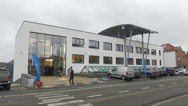 Wavre inaugure son nouveau bâtiment du Réseau des énergies
