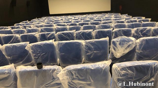 testLe cinéma de Nivelles toujours sans date d'inauguration annoncée