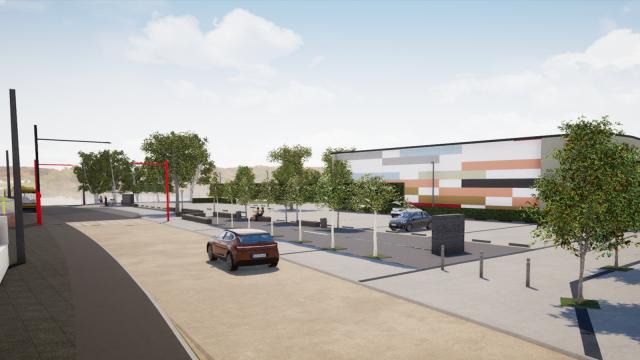 testLa place de Bousval rénovée courant 2021
