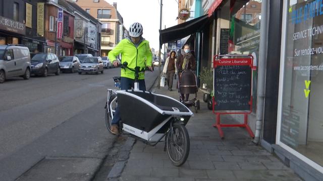 Livraison à vélo offerte par la Commune de Waterloo jusqu'à la fin des soldes