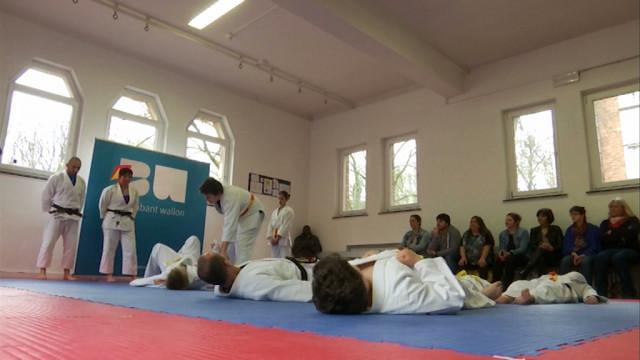Le judo fait grandir les enfants de l'IMP d'Hévillers