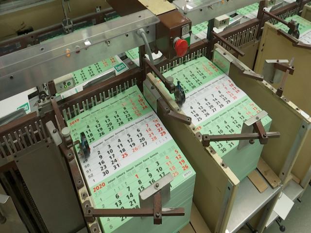 testL'Imprimerie Oleffe produit 4 millions de calendriers par an !
