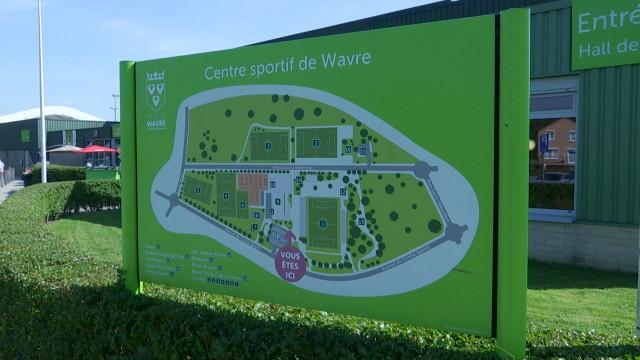 testLe hall sportif de Wavre refait peau neuve
