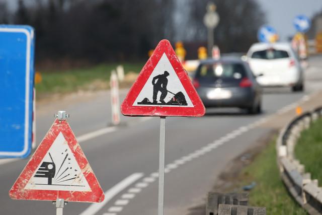 Contournement Sud (R24): la circulation sera interdite dans deux giratoires nivellois