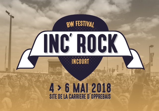 Voici le dernier nom prévu à l'Inc'Rock 2018 !