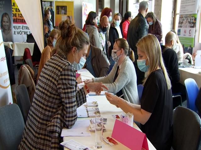 testJodoigne : Fréquentation en hausse pour la matinée de l'emploi