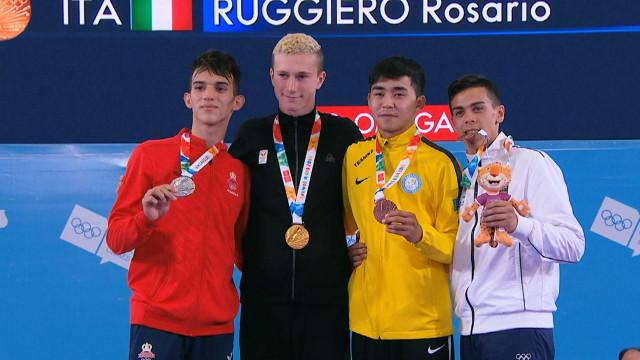 Quentin Mahauden, de l'or olympique chez les jeunes... avant Paris 2024 ?