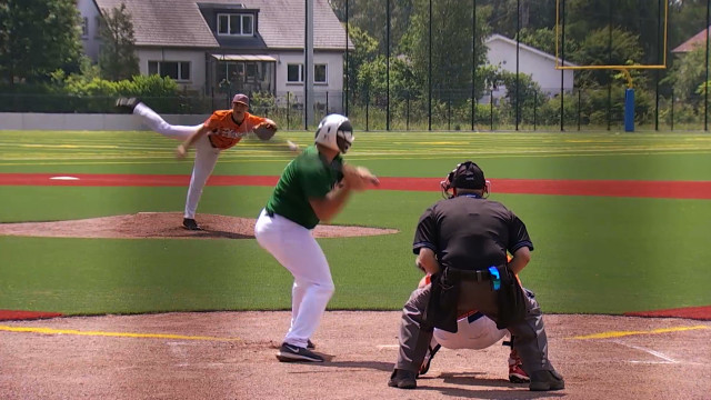 Le baseball reste modeste en Wallonie mais évolue dans le bon sens
