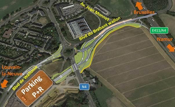 Louvain-la-Neuve: un vaste chantier va démarrer début février