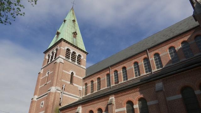 Nivelles : l'église du Saint-Sépulcre et Saint-Paul désacralisée
