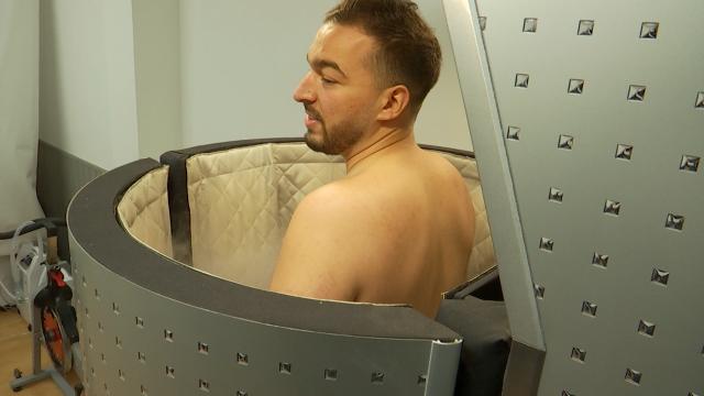 testLa cryothérapie, le traitement en vogue des sportifs contre les inflammations