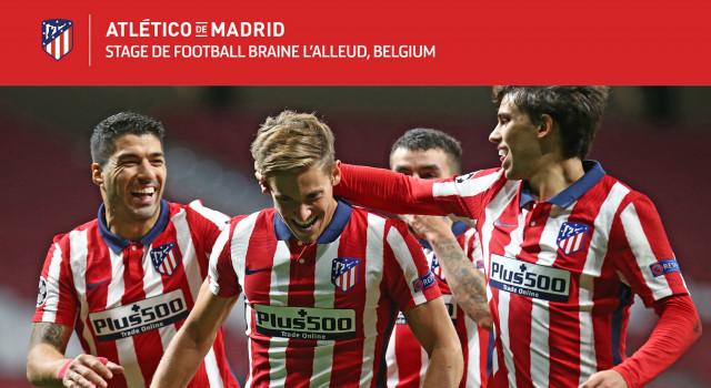 L'Atlético Madrid débarque à Braine cet été