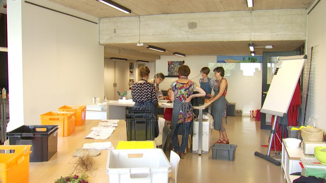 À Louvain-la-Neuve, on peut apprendre à fabriquer du papier