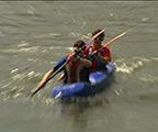 Ottignies: descente de la Dyle en kayak