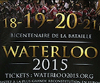 Bataille de Waterloo: programme du bicentenaire