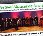 testLasne : annonce du Festival Musical