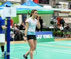Badminton : Portrait de C.Lassaux