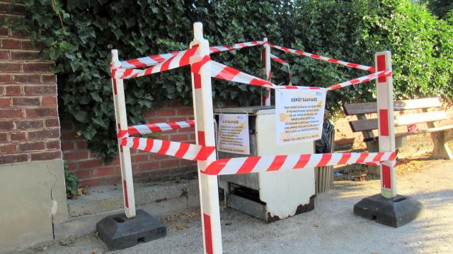 Action rubalise à Wavre : les déchets exposés à la vue de tous!