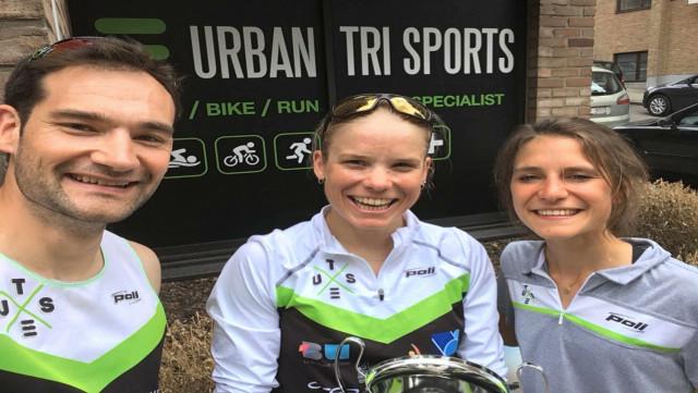 Alexandra Tondeur brille aux 20 kilomètres de Bruxelles !