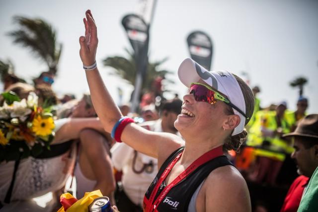 Alexandra Tondeur finit 19ème à Hawaï