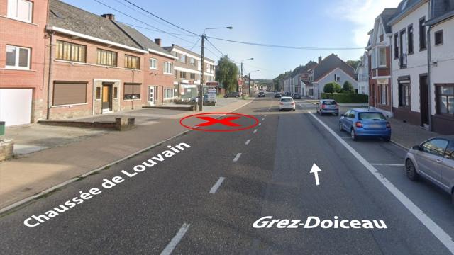 Appels à témoins : accident de circulation le 26 novembre à Wavre