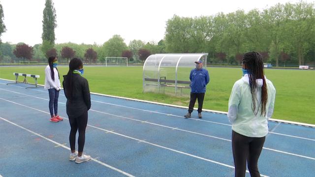 testAthlétisme: reprise des entraînements au CABW en petits groupes