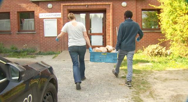 Au coeur des livraisons alimentaires pour les réfugiés