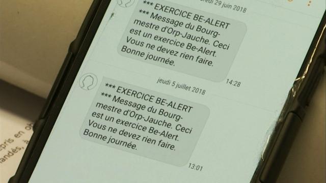 testBE-Alert a déjà conquis 18 communes du Brabant wallon, et vous?