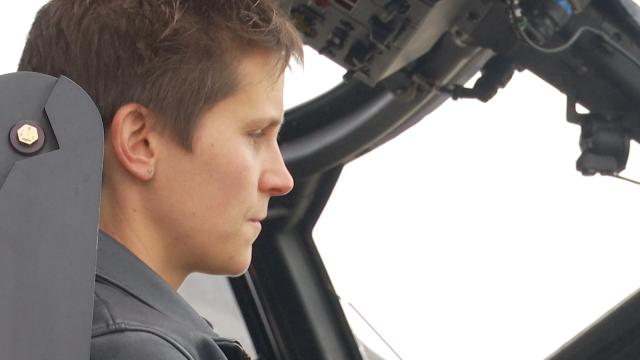Beauvechain : Julie De Breuck, première femme à la tête des NH90