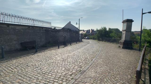 Beauvechain : la rue de la  Bruyère St-Martin définitivement à sens unique