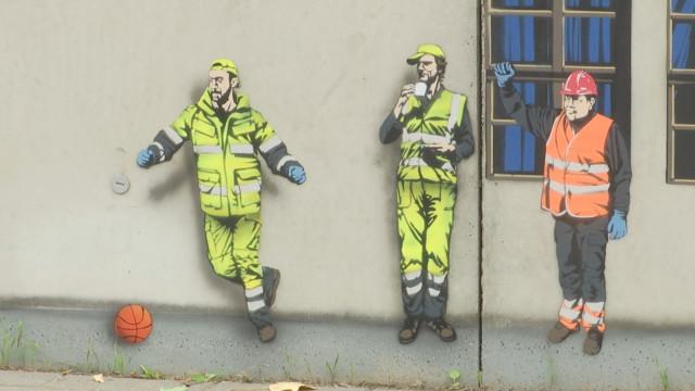 testBeauvechain : une première fresque à domicile pour Jaune