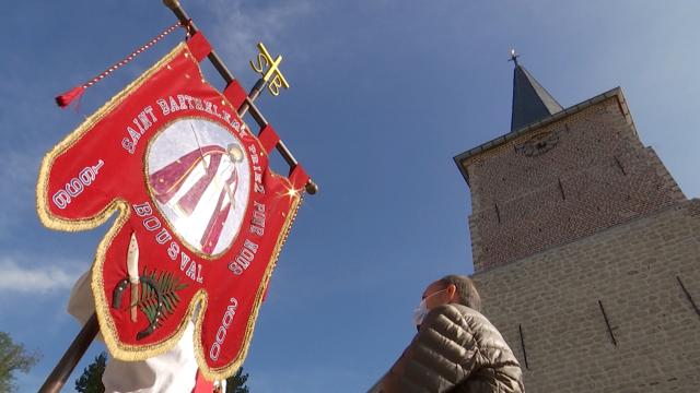 testBousval : un 324ème Tour Saint Barthélemy en comité plus restreint