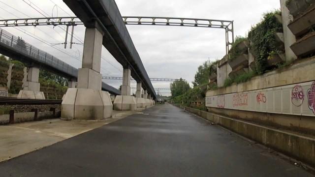 Brabant wallon : pas de vélo le long du RER !