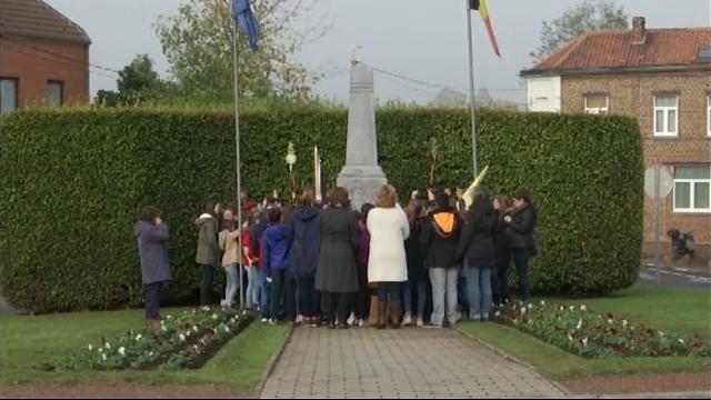testSemaine du Souvenir : les élèves d'Ophain rendent hommage à ceux qui se sont battus