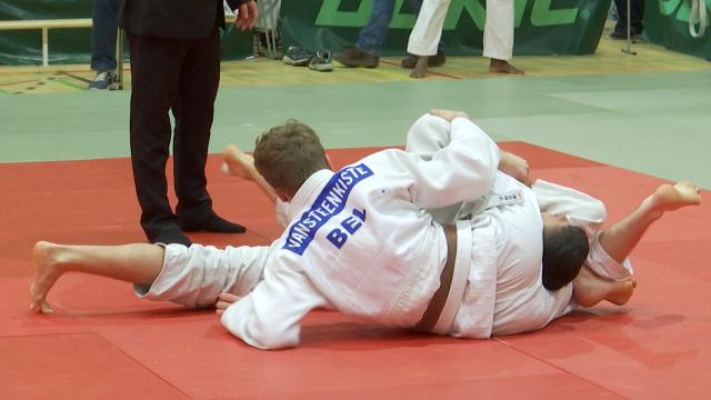 Championnats provinciaux de judo à Wavre : Aymeric Vansteenkiste en or