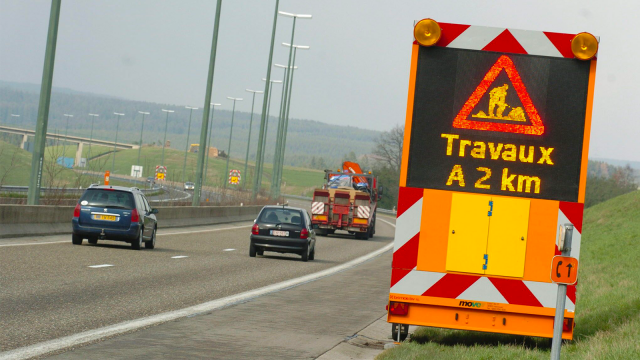 Chantier sur la E411 : déviation sur la bretelle d'accès de Louvain-la-Neuve du 27 au 29 mars