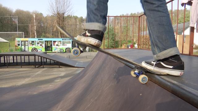 Chaumont-Gistoux dispose d'un tout nouveau skatepark au centre sportif du Ronvau