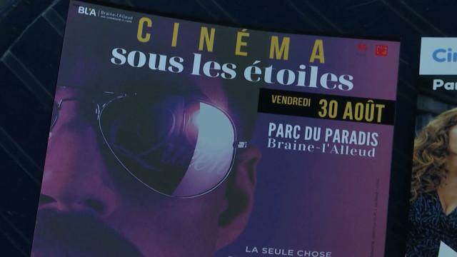 Cinéma sous les étoiles : des films récents sur grand écran à Braine-l'Alleud