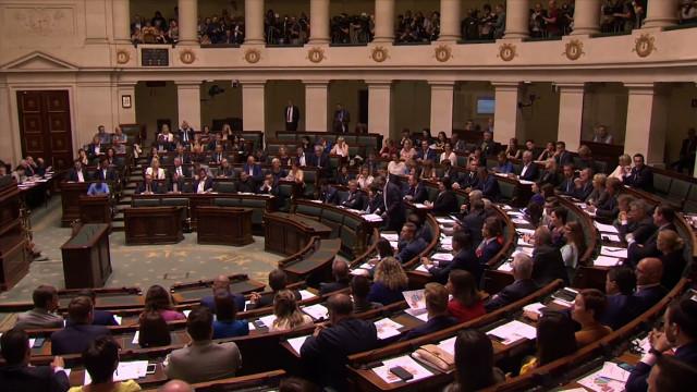 Cinq élus brabançons à la Chambre