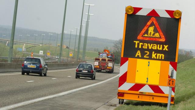 Circulation réduite à une voie sur le R0 entre Argenteuil et Waterloo ce week-end