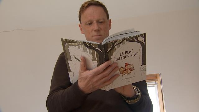 Michel Van Zeveren : 22 ans de carrière et un 35e livre pour les enfants