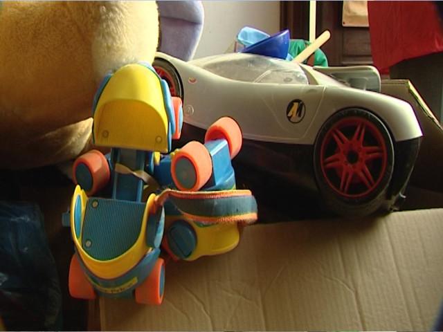 Collecte de jouets dans les parcs à conteneurs d'in BW