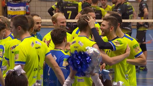 Coupe de Belgique de volley : un derby brabançon remporté par l'Axis Guibertin