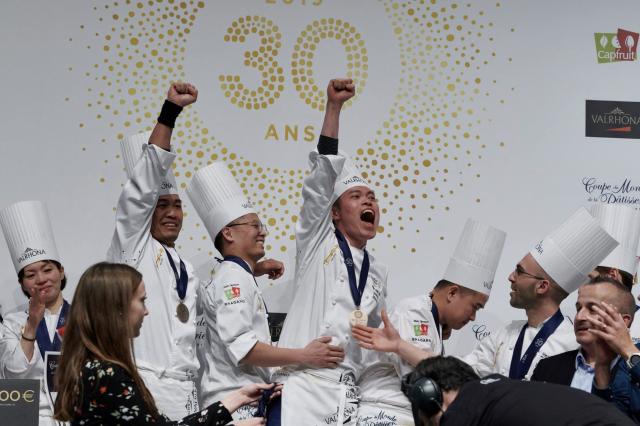 Le Brainois Arnaud Szalies et son équipe décrochent la 8ème place de la Coupe du monde de pâtisserie !