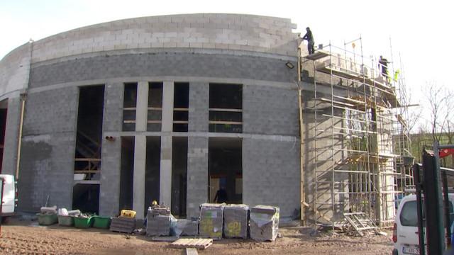 testCourt-Saint-Étienne : les travaux de la nouvelle mosquée avancent bien