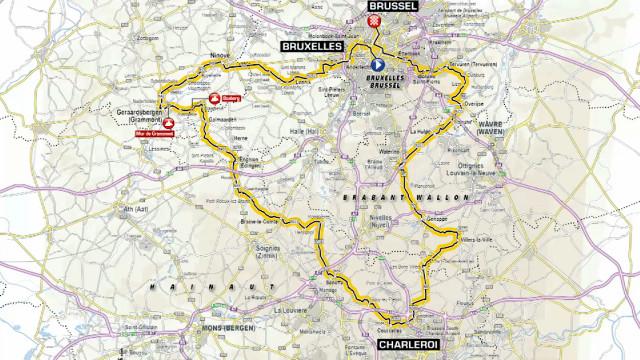 Cyclisme: le Tour de France traversera le Brabant wallon sur 40 kilomètres