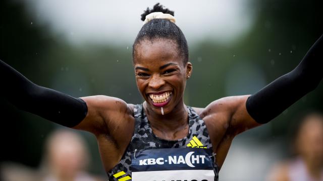 Cynthia Bolingo signe un nouveau record de Belgique sur 400m