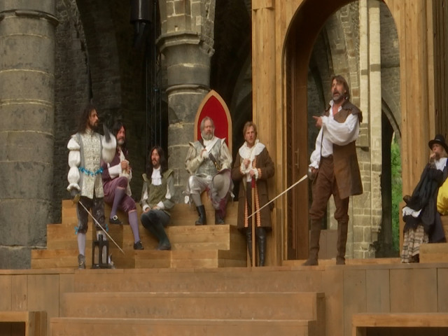 Cyrano à Villers-la-Ville:Jour J-1 Le filage