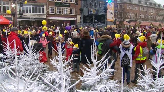 Défi Viva for Life : Plus de 250 enfants se sont rassemblés à Nivelles