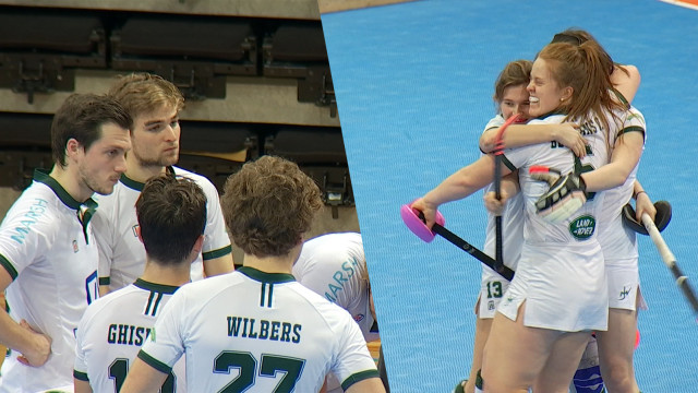 Demi-finales de hockey indoor : les dames du Watducks passent, les hommes trépassent